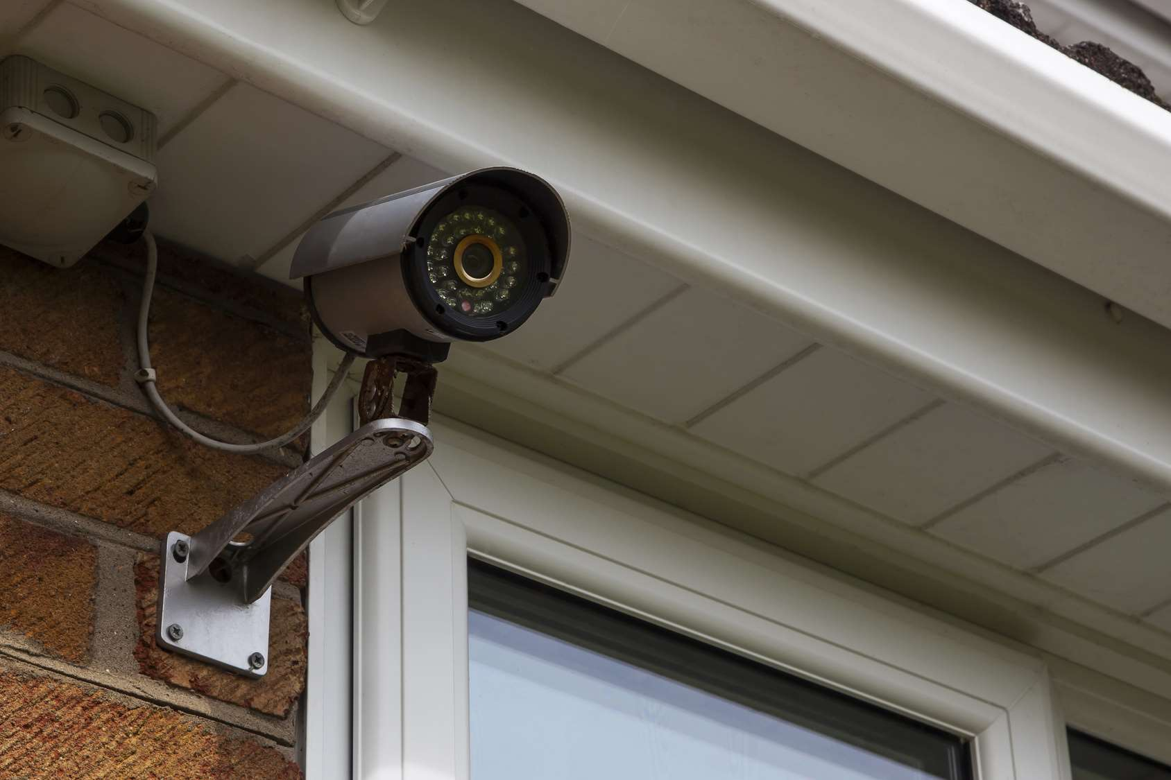 CCTV security camera for home security and surveillance.